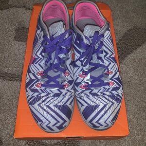 Purple White Pink Nike Free 5.0 TR